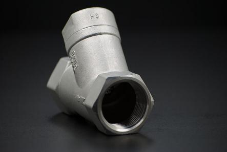 Edelstahl Rückschlagventil Schrägsitz - 1/2 Zoll / Innengewinde x Innengewinde