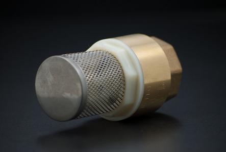 Brass Foot Valve - 1 inch / F