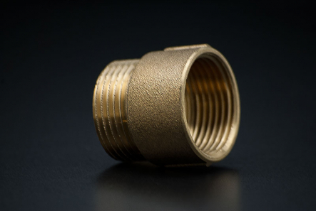 Brass CYLINDRICAL EXTENSION - 1/2 x 25mm / FxM x MM