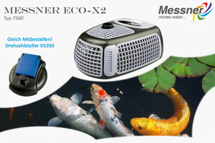 Pond pump Eco-X2 7500