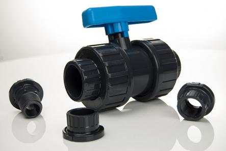 PVC Kugelhahn Plimex Serie 50mm (1 1/2 Zoll)