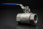 Preview: Stainless Steel Ball Valve Two-Piece full passage - 1 Inch / Female Thread x Female Thread