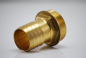 Preview: Brass hose nozzle with external thread