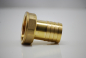Preview: Brass hose nozzle with internal thread