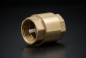 Preview: Brass Check Valve Type York - 1 1/4 inch / IG x IG