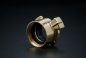 Preview: Brass Fast Coupler with female thread - 1 1/4 Inch / F