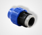 Preview: PE clamping coupling with internal thread, PE adapter with internal thread