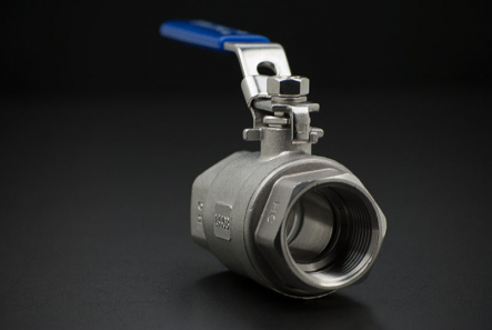 Stainless Steel Ball Valve Two-Piece full passage - 1 Inch / Female Thread x Female Thread