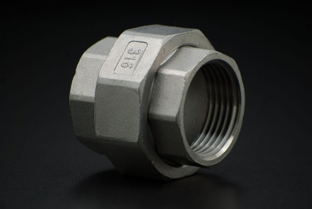 Stainless Steel Union Coupler Conical - 3/4 Inch / Female Thread x Female Thread