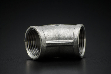 Stainless Steel Elbow 45 Degree - 1 1/4 Inch / Female Thread x Female Thread