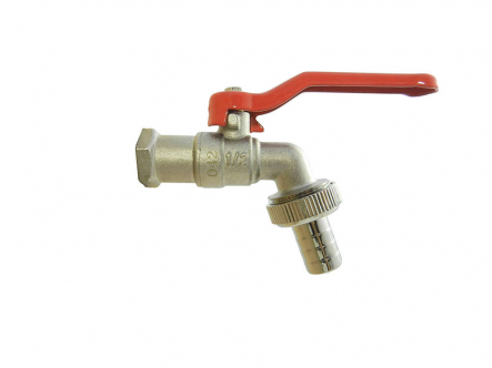 Brass ball tap, tap, faucet, tap - external thread