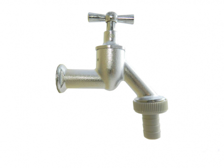 Brass spout valve, gag top with double O-ring