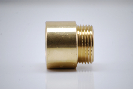 Brass tap extension