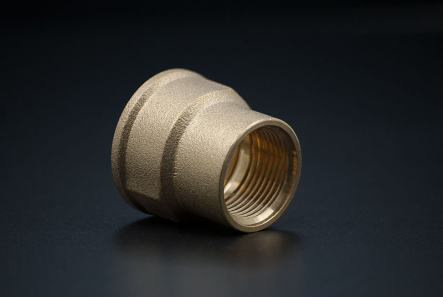 Brass Reduce Socket - 1 x 1/2 Inch / FxF