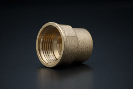 Brass Reduce Socket - 1 1/4 x 3/4 Inch / FxF