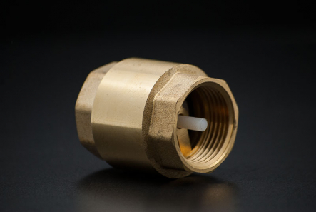 Brass Check Valve Type York - 1 1/4 inch / IG x IG