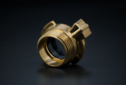 Brass Fast Coupler with Male thread - 1 1/4 Inch / M