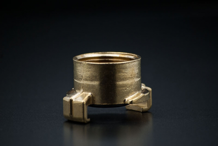 Brass Fast Coupler with female thread - 1 1/4 Inch / F