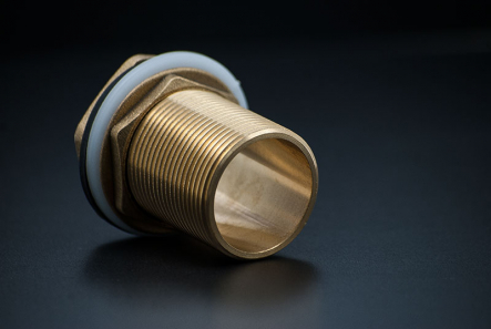 Brass Tank Connector - 1/2 Inch / M