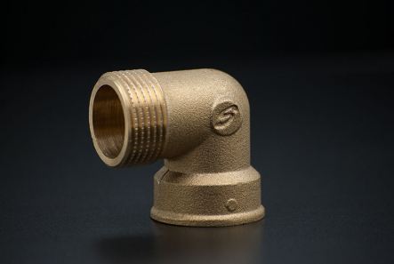 Brass Elbow 90 degree - 1 Inch / FxM