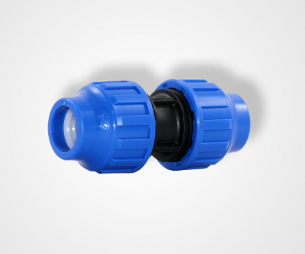 PE clamping coupling, PE clamping connector straight