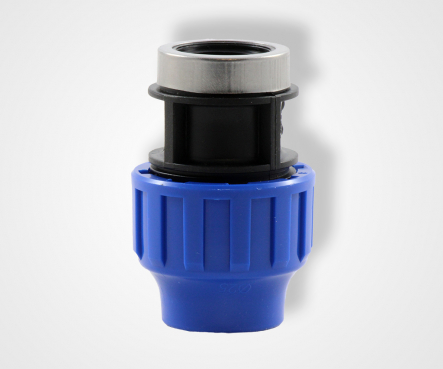 PE clamping coupling with internal thread, PE adapter with internal thread