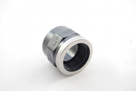 PVC Transition Socket V4A Verstärkungsring - 50mm x 1 1/2 Inch / Glue Socket x Female Thread V4A