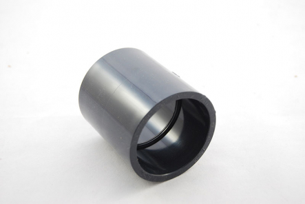 PVC Socket - 50mm / Glue Socket x Glue Socket