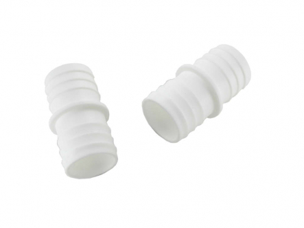 ABS hose nozzle 32mm x 32mm white