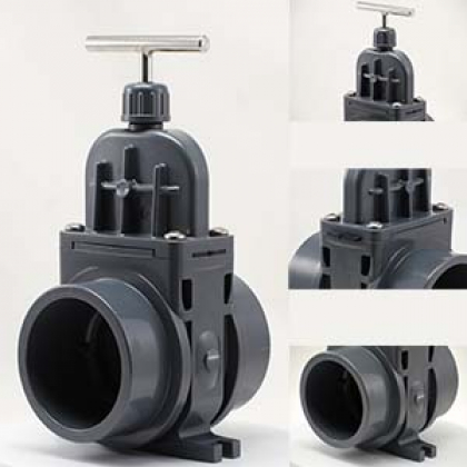 PVC-U gate valves from VDL