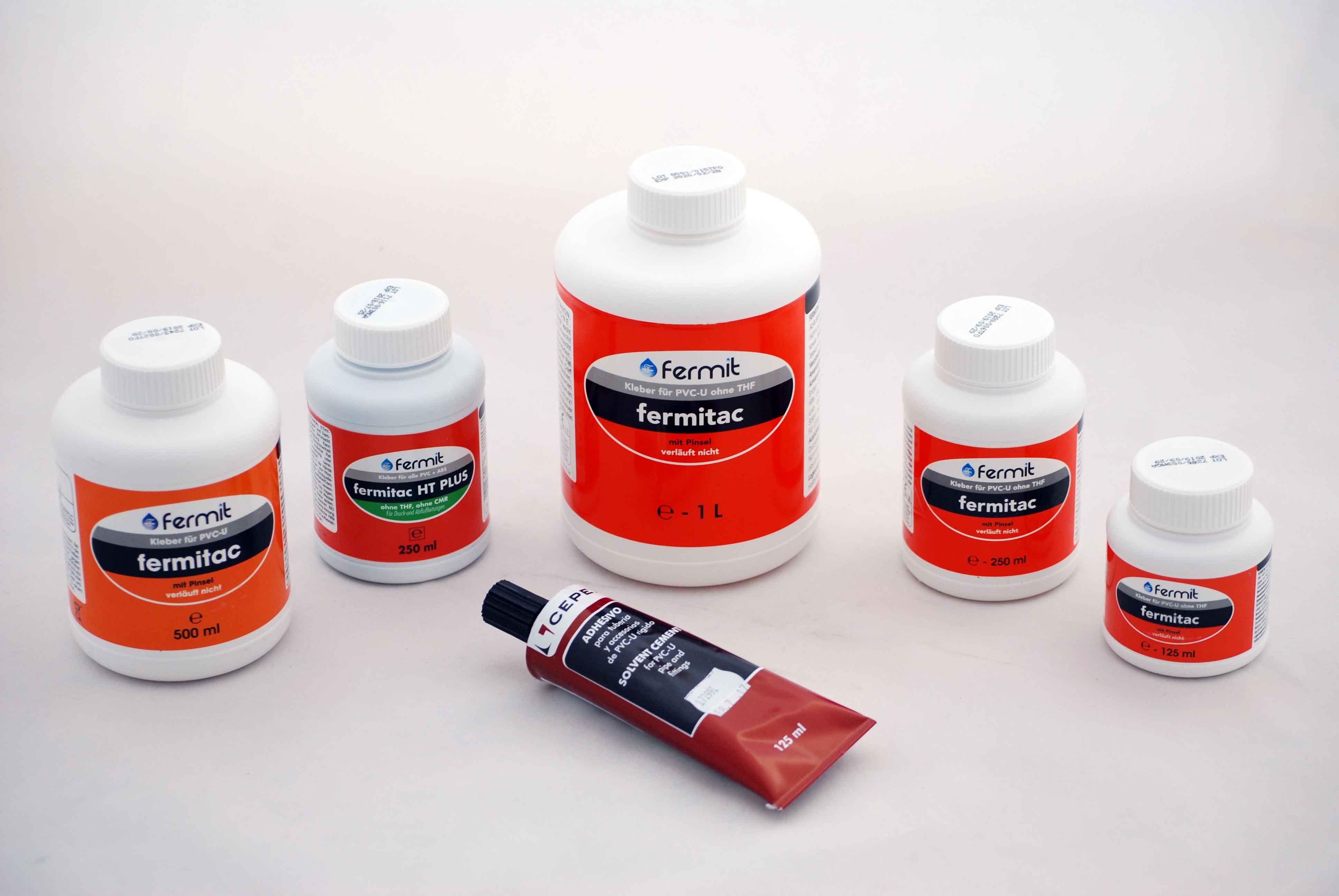 Favorit GWT Versandhandel - PVC-U Kleber, Hart PVC Kleber, Fermitac PVC-U KU22