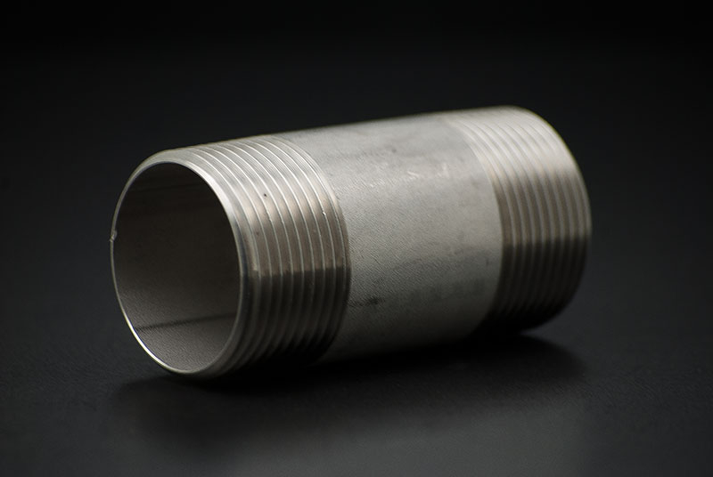 Stainless Steel Pipe Nipple - 1/4 Inch x 40mm / Male Thread x Lenght