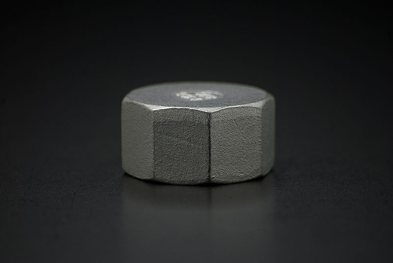 Stainless Steel Cap - 1/2 Inch / Female Thread