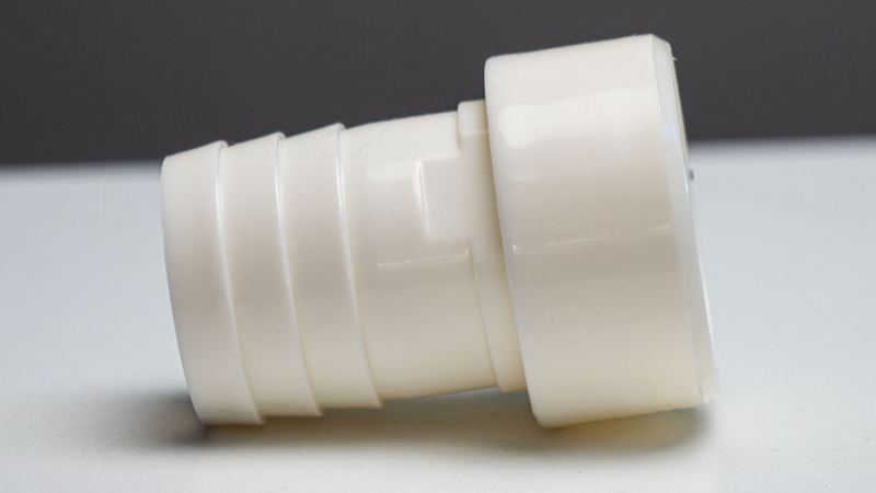 ABS hose nozzle with adhesive spigot